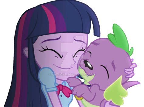 equestria girls twilight and spike eqg rainbow rocks twilight sparkle spike vector by abtoons
