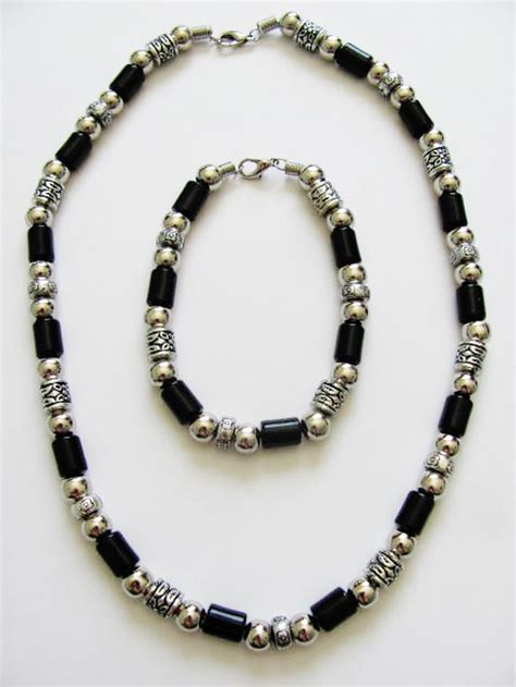 beaded necklaces mens vintage apache tribe beaded s necklace bracelet