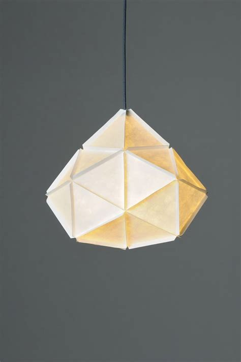 Folded Paper Light Shade - 25 best ideas about paper ls on origami
