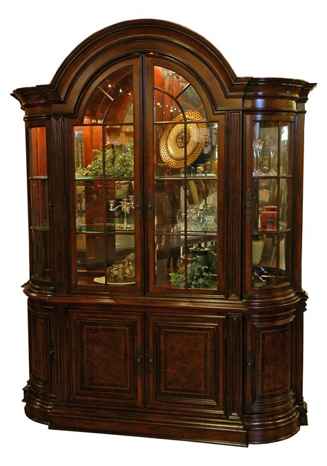 buffet hutch cabinet dining room buffet and hutch china cabinet ebay