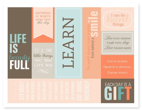 printable bookmarks with quotes 6 best images of inspirational printable bookmarks free