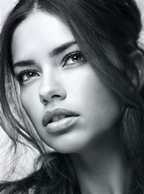 pintrest book beautiful faces adriana lima black and white pinterest adriana lima