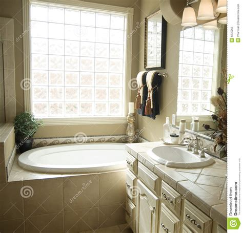 Beautiful Bathroom Interiors by Beautiful Bathroom Interior Design Royalty Free Stock