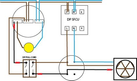 wiring diagram for bathroom extractor fan with timer 52