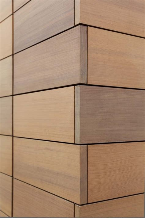 modern wood wall design is in the details contemporary exterior cladding