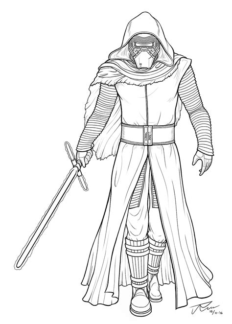 kylo ren and the first order stormtroopers coloring page kylo ren pages coloring pages