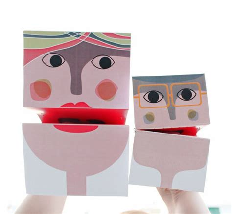 Puppet With Paper - craft how to make your own paper puppets