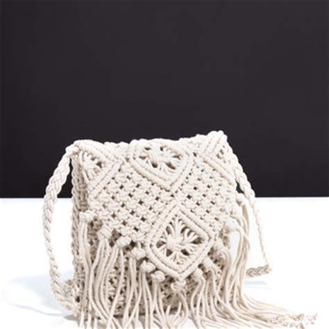 How To Make Macrame Bags - shop macrame bag on wanelo