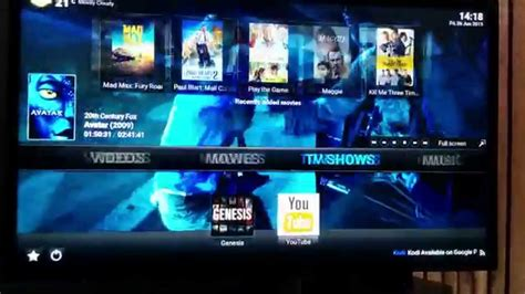 google images kodi kodi 15 0 beta 2 on google nexus player showing high