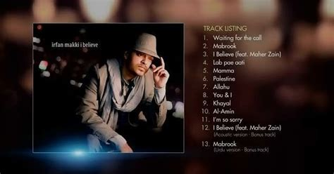 download mp3 full album maher zain download mp3 quot irfan makki i believe full album 2011