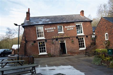 crooked house still feeling tipsy after new year s eve probably best to avoid the crooked house pub