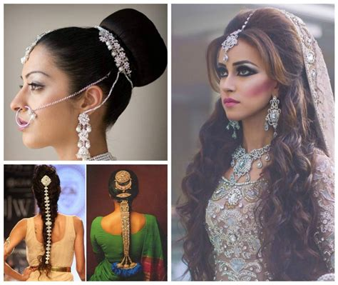 Indian Wedding Hairstyles For Hair And by Top 5 Indian Bridal Hairstyles For Thin Hair