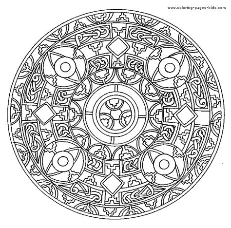 difficult mandala coloring pages printable difficult level mandala coloring pages coloring