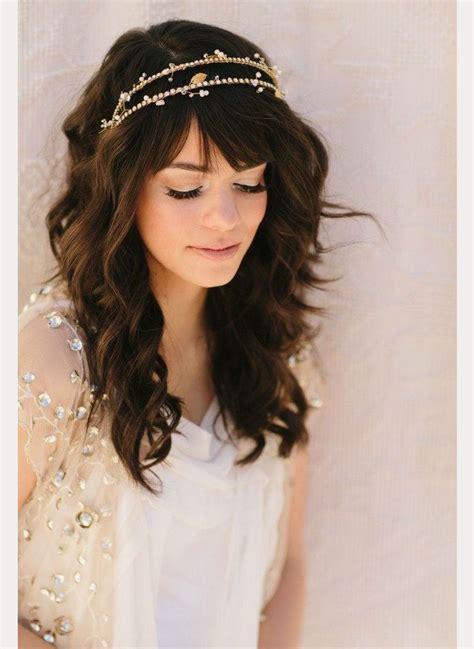 40 beautiful brides with bangs mon cheri bridals