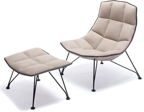 Jehs Laub Lounge Chair by Jehs Laub Wire Lounge Chair Ottoman Hivemodern