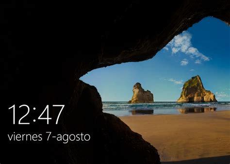 imagenes muestra windows 10 cambia la imagen de la pantalla de bloqueo de tu windows 10