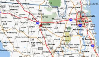 lake city florida maps