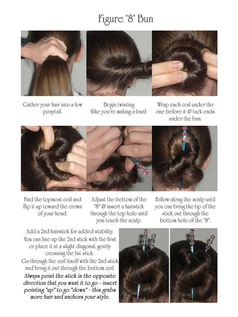 hairstyles for hair that sticks up 98 best hair stick how to images on pinterest hair