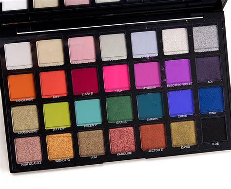 Sephora Palette sephora editorial pro eyeshadow palette review photos