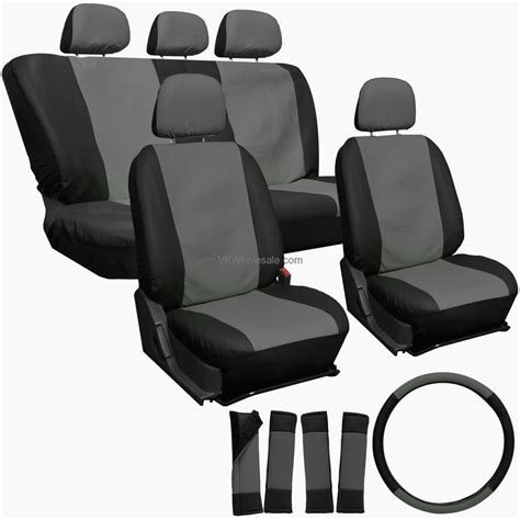 mobil 1 synthetic in my floor gray black superior synthetic faux leather car seat
