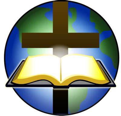 The Who Crossed Worlds image bible and cross before globe cross image
