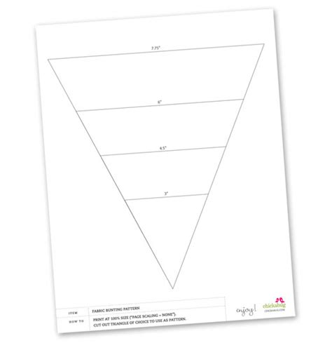 bunting template to print bunting template on pennant banner template