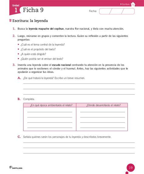 la misma luna preguntas de comprension cuaderno actividades lenguaje 6 186