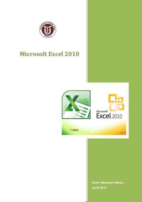 tutorial excel 2010 nivel medio tutorial microsoft excel 2010