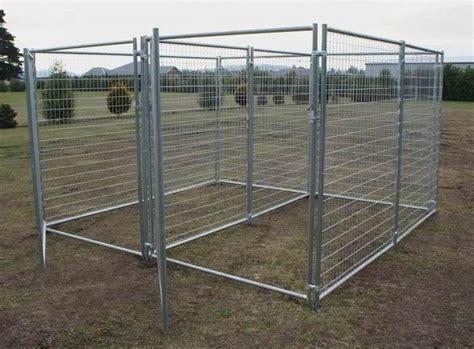 puppy run temporary fence