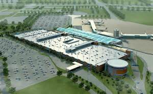 gerald r ford international airport terminal area and