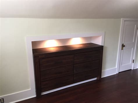 Drawers Built Into Wall by Built Ins