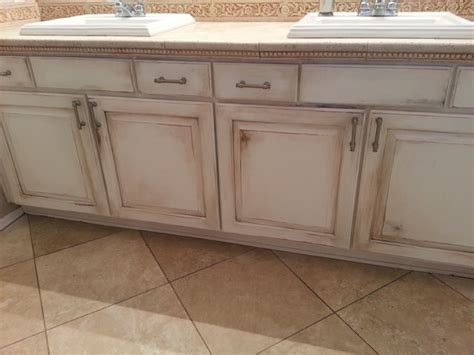 bath vanity reface rustic bathroom by
