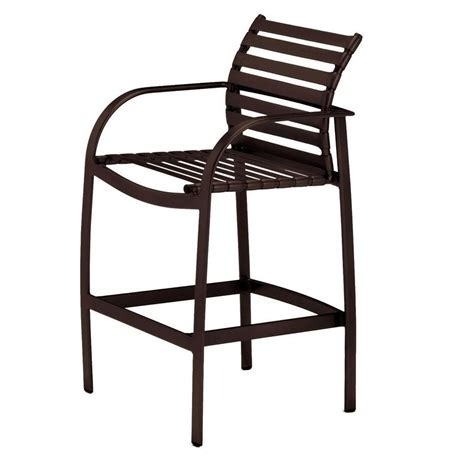 tradewinds outdoor furniture tradewinds scandia java commercial patio bar stool hd 5054m 2 the home depot