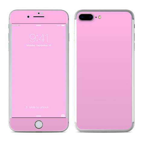 apple iphone 7 plus skin solid state pink by solid colors decalgirl