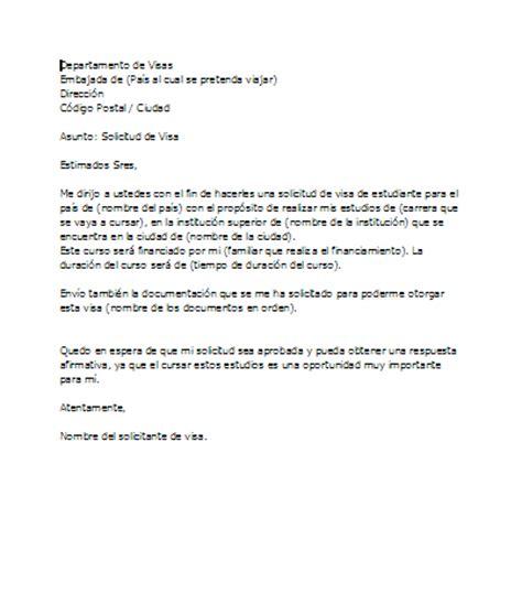 carta de invitacion para visa alemana ejemplo carta de motivaci 243 n para visado ejemplos de carta