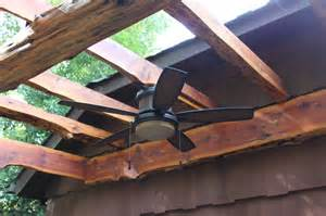 Pergola With Outdoor Ceiling Fan Pergola Outdoor Fan Traditional Patio New York By