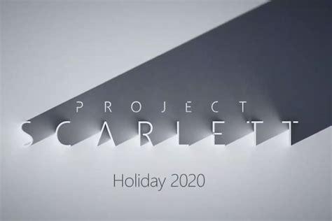 microsofts  gen xbox project scarlett console packs