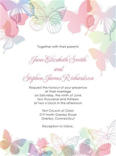 butterfly invitation template 25 unique butterfly invitations ideas on