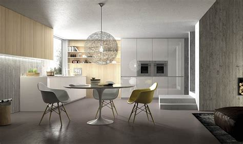 Contemporary Small Kitchen Designs - contemporary italian kitchens designs creative timeless ideas
