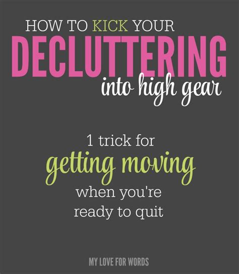 11 de cluttering tricks that make life so much easier a well shelf ideas and craft paint this one decluttering trick can help you stay motivated to