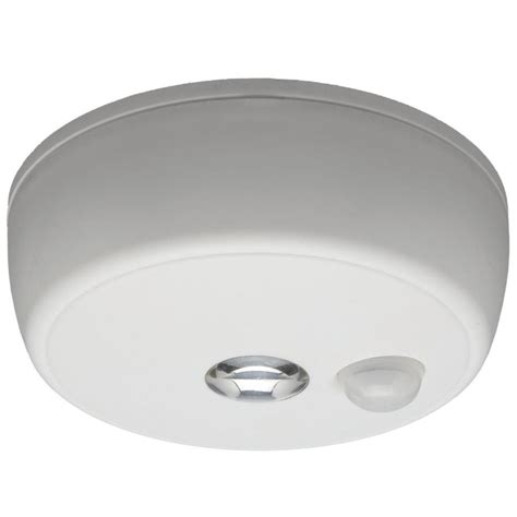 Mr Beams Motion Sensor Light by Shop Mr Beams White Led Light With Motion Sensor Auto On At Lowes