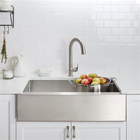 kohler strive sink k 5285 kohler k 5285 na strive 32 x 18 1 4 x 9 5 16 inch under