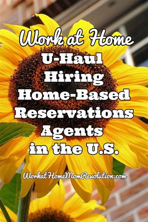 work at home u haul reservations in u s work at
