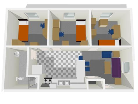 4 Unit Apartment Building Plans by Harden 3376 Office Of Residence Life University Of
