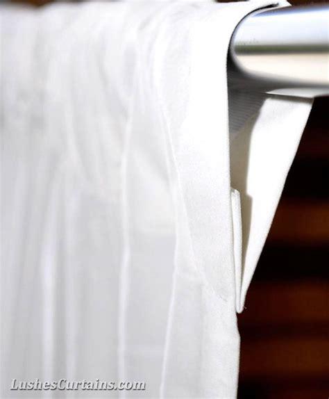 White 18 Ft Extra High Velvet Curtain Long Panels Tall