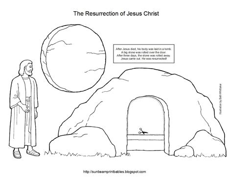 printable coloring pages of jesus resurrection printable easter crafts pdf craft page here the