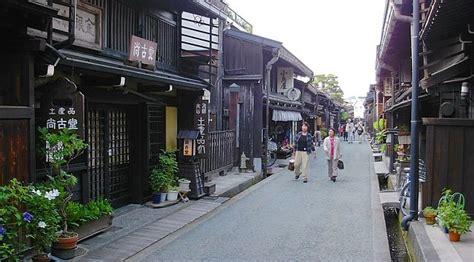 japanese town takayama travel old town
