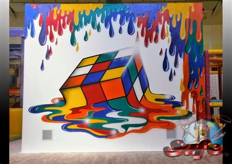 avila aerografia graffiti mural infantiles
