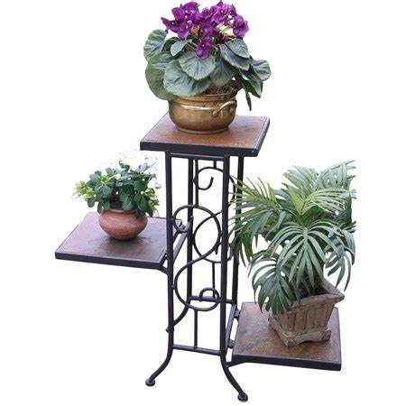 3 Tier Planter Stand by 3 Tier Square Planter Stand Patio