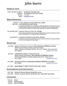 47 latex resume templates allfinance zone